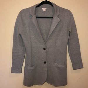 J. Crew Sweater Blazer